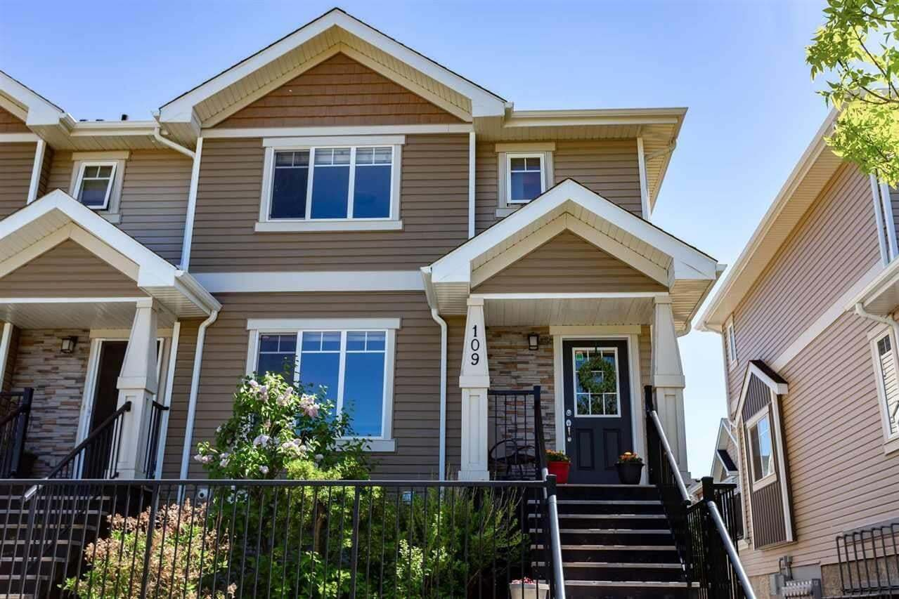 Townhouse for sale at 9535 217 St NW Edmonton Alberta - MLS: E4203585