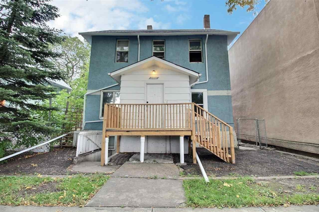 House for sale at 9539 110 Av NW Edmonton Alberta - MLS: E4213347