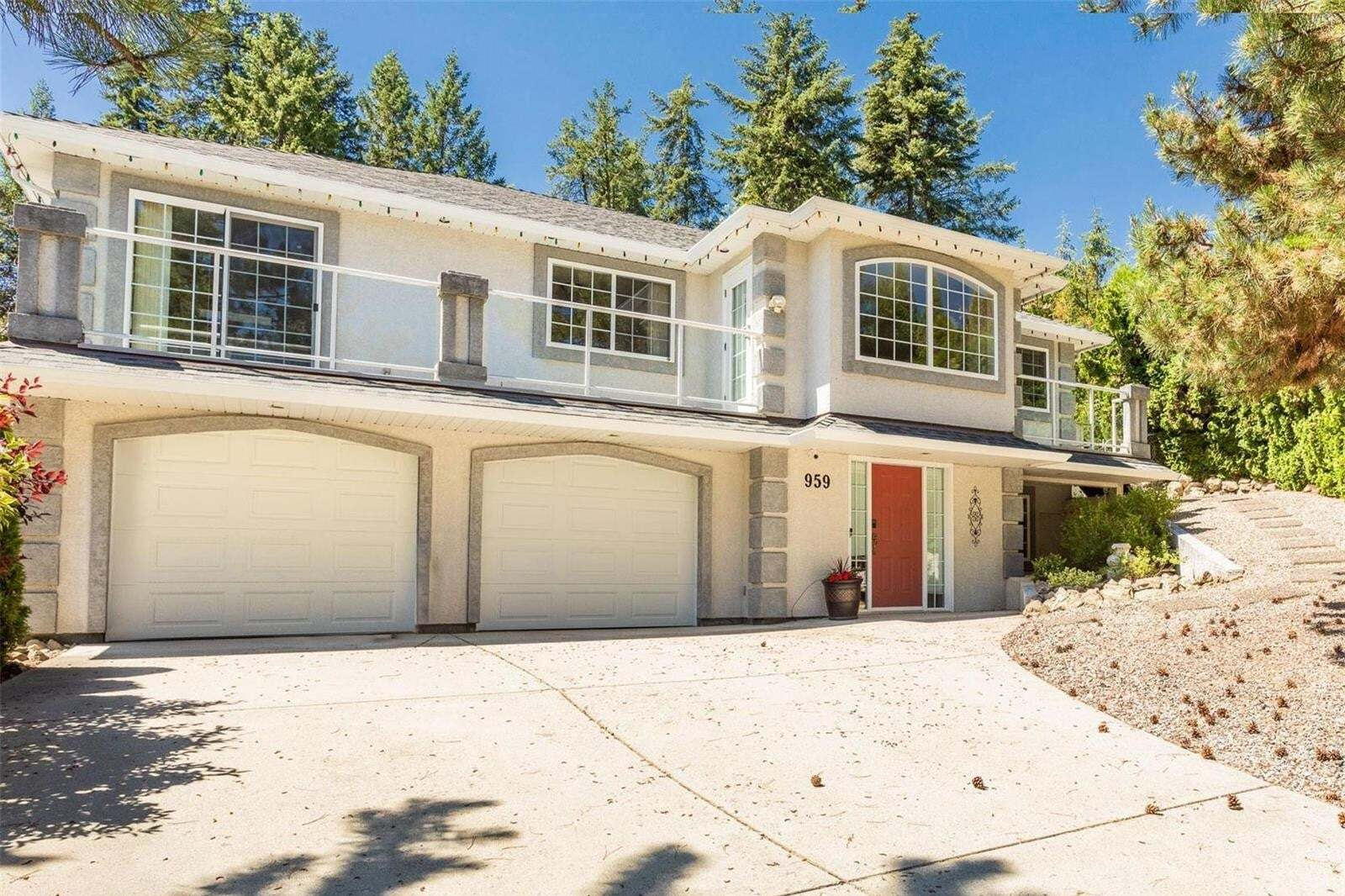 House for sale at 959 Purcell Ct Kelowna British Columbia - MLS: 10209902