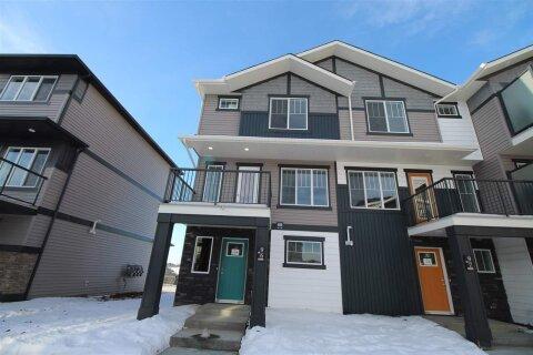 Townhouse for sale at 1530 Tamarack Bv NW Unit 96 Edmonton Alberta - MLS: E4200620