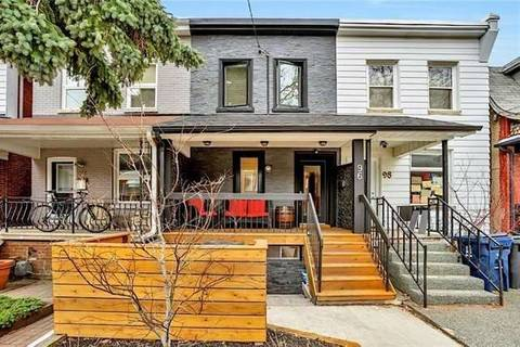Townhouse for rent at 96 Bartlett Ave Toronto Ontario - MLS: W4393386
