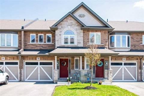 Townhouse for sale at 96 Bloom Cres Hamilton Ontario - MLS: X4456176