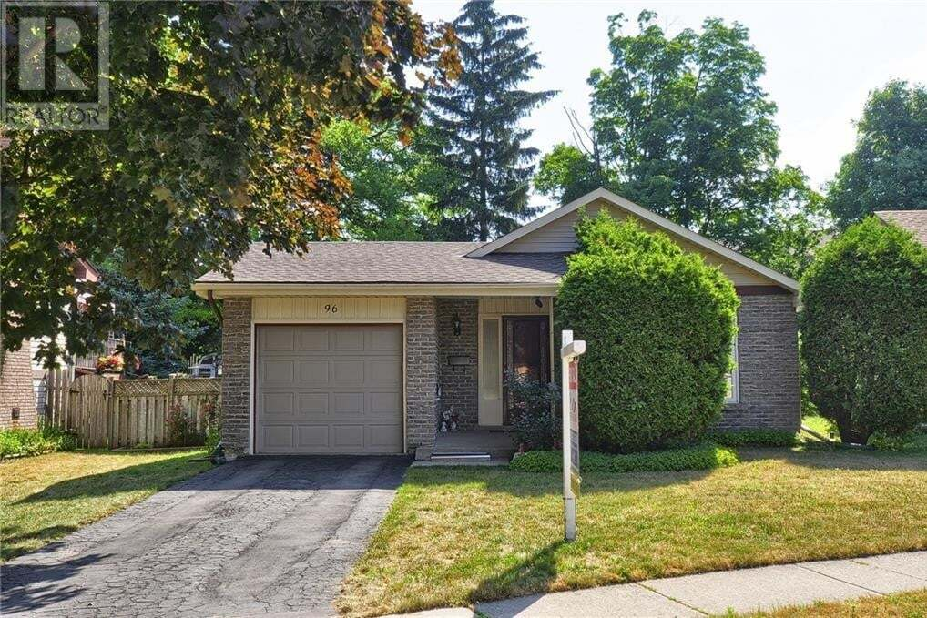 House for sale at 96 Heather Ave Cambridge Ontario - MLS: 30819795
