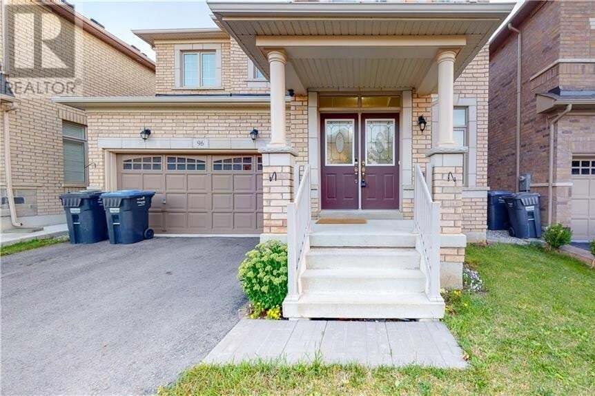 House for sale at 96 Lola Cres Brampton Ontario - MLS: 30827843