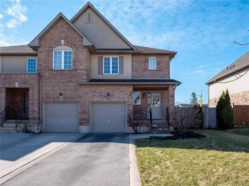 Townhouse for sale at 96 Meadow Wood Cres Stoney Creek Ontario - MLS: H4075985