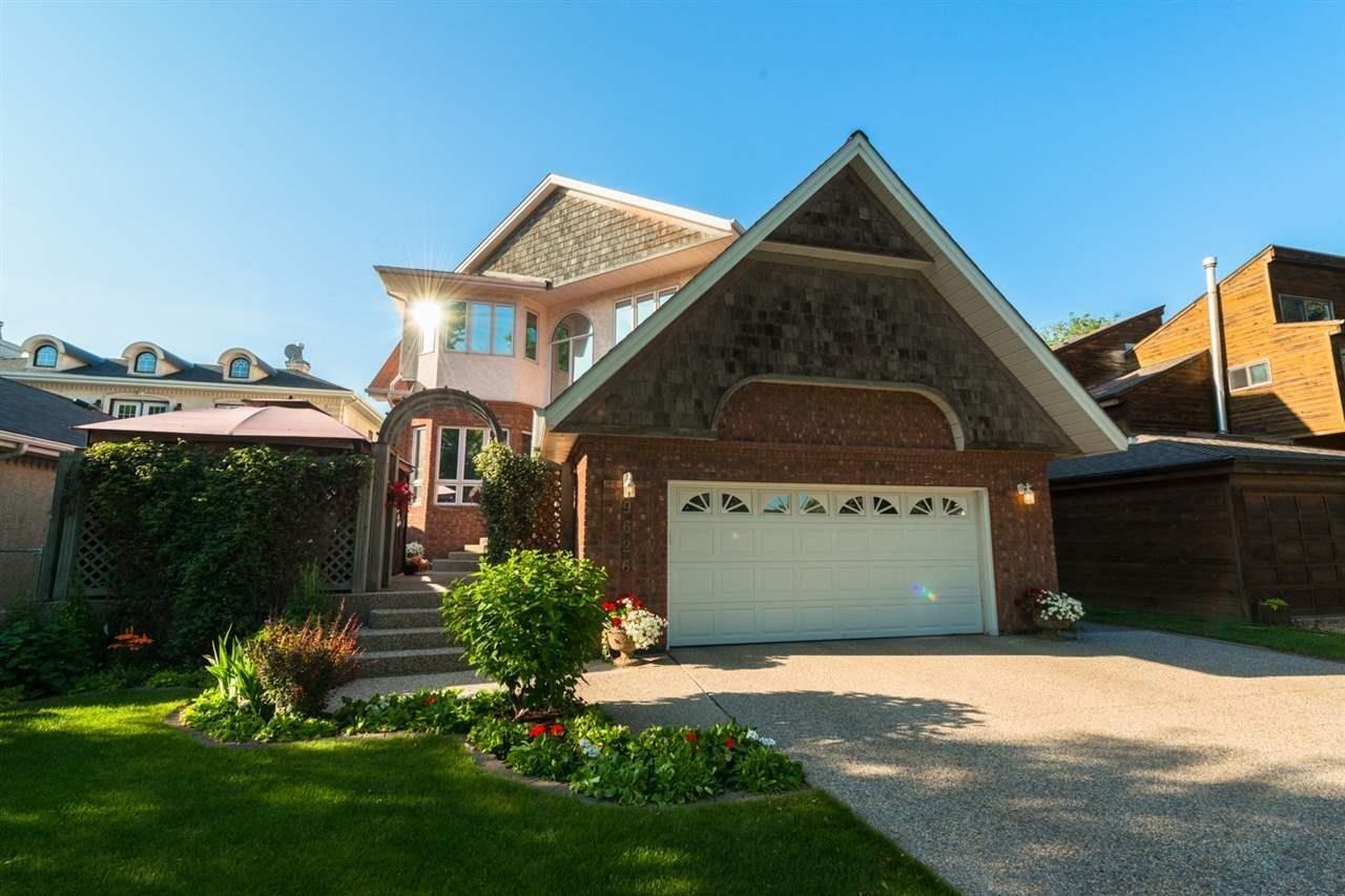 House for sale at 9626 95 Av NW Edmonton Alberta - MLS: E4211573