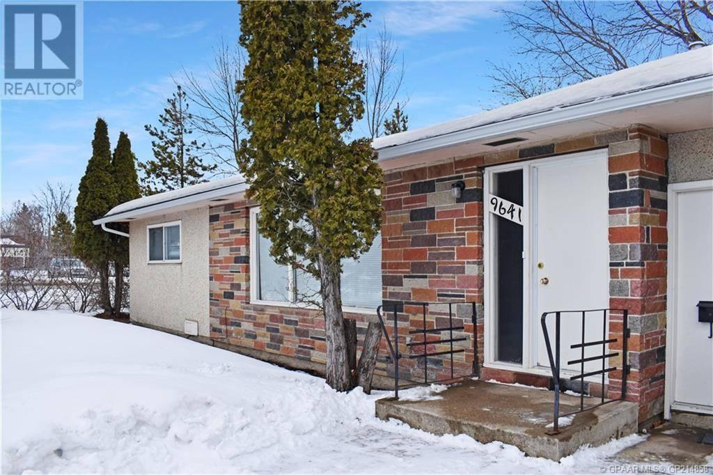 House for sale at 9641 107 Ave Grande Prairie Alberta - MLS: GP214858
