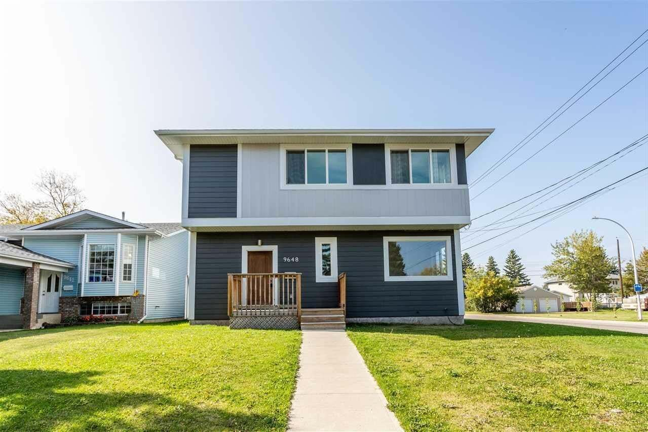 Townhouse for sale at 9648 160 St NW Edmonton Alberta - MLS: E4214950