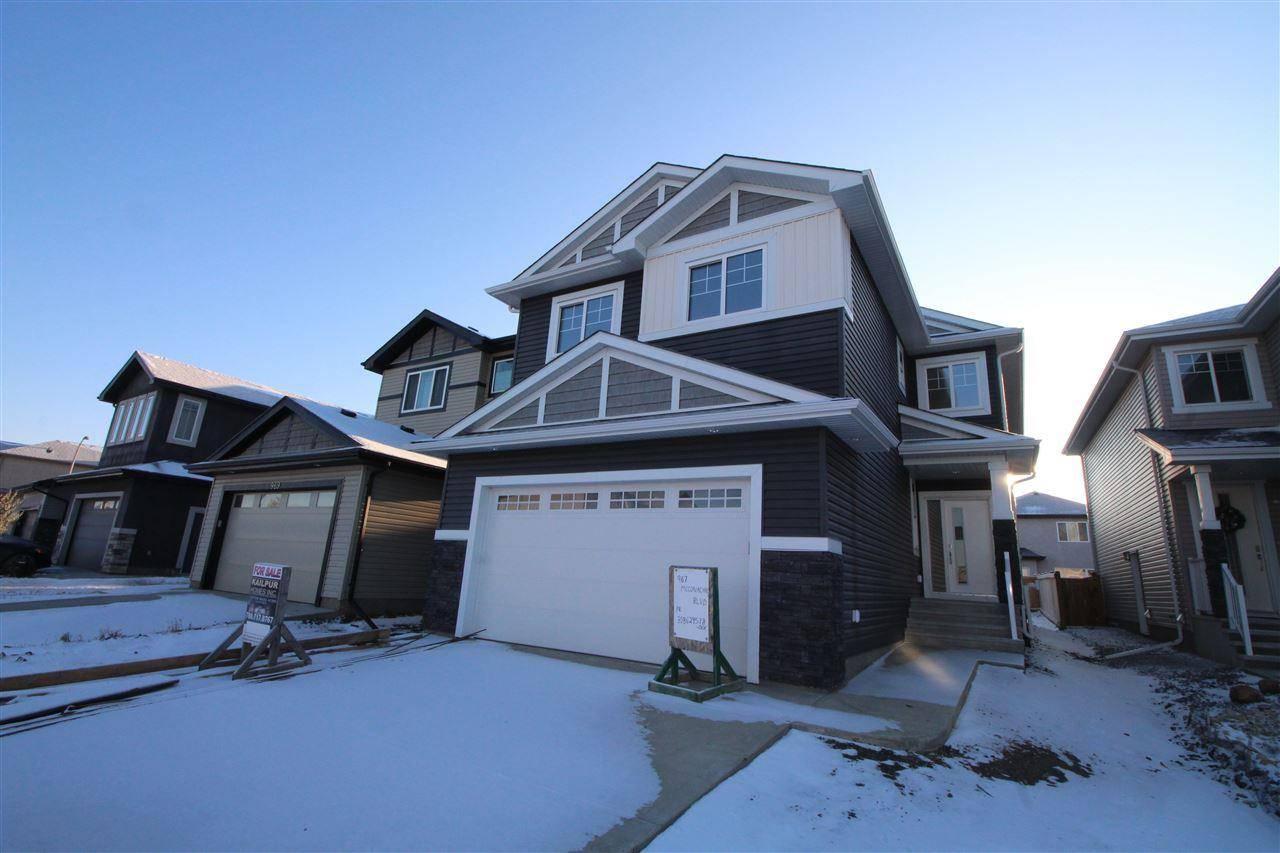 House for sale at 967 Mcconachie Blvd Nw Edmonton Alberta - MLS: E4179512