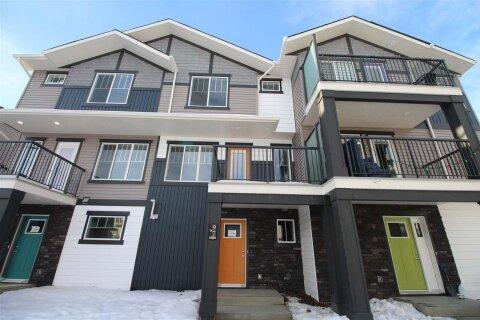 Townhouse for sale at 1530 Tamarack Bv NW Unit 97 Edmonton Alberta - MLS: E4204544