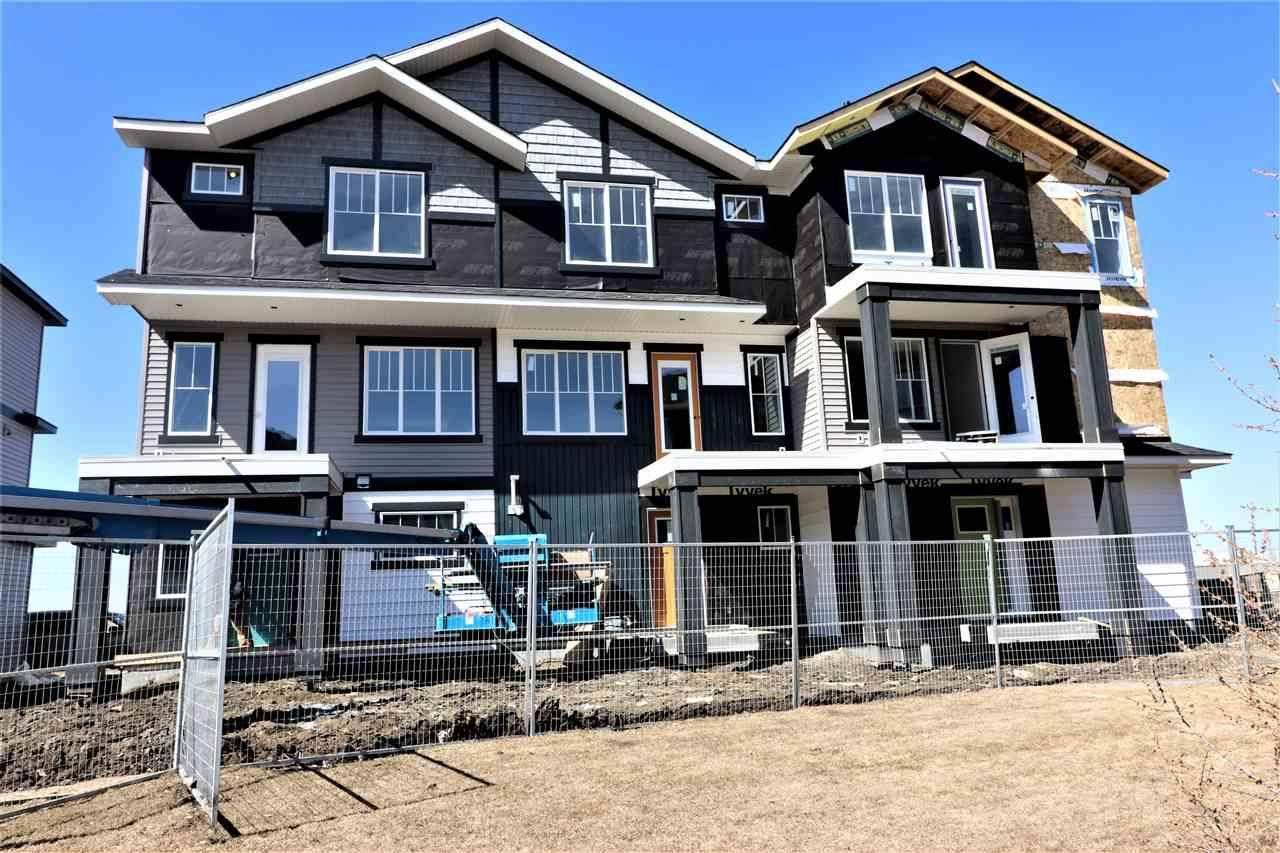 Townhouse for sale at 1530 Tamarack Blvd Nw Unit 97 Edmonton Alberta - MLS: E4181893