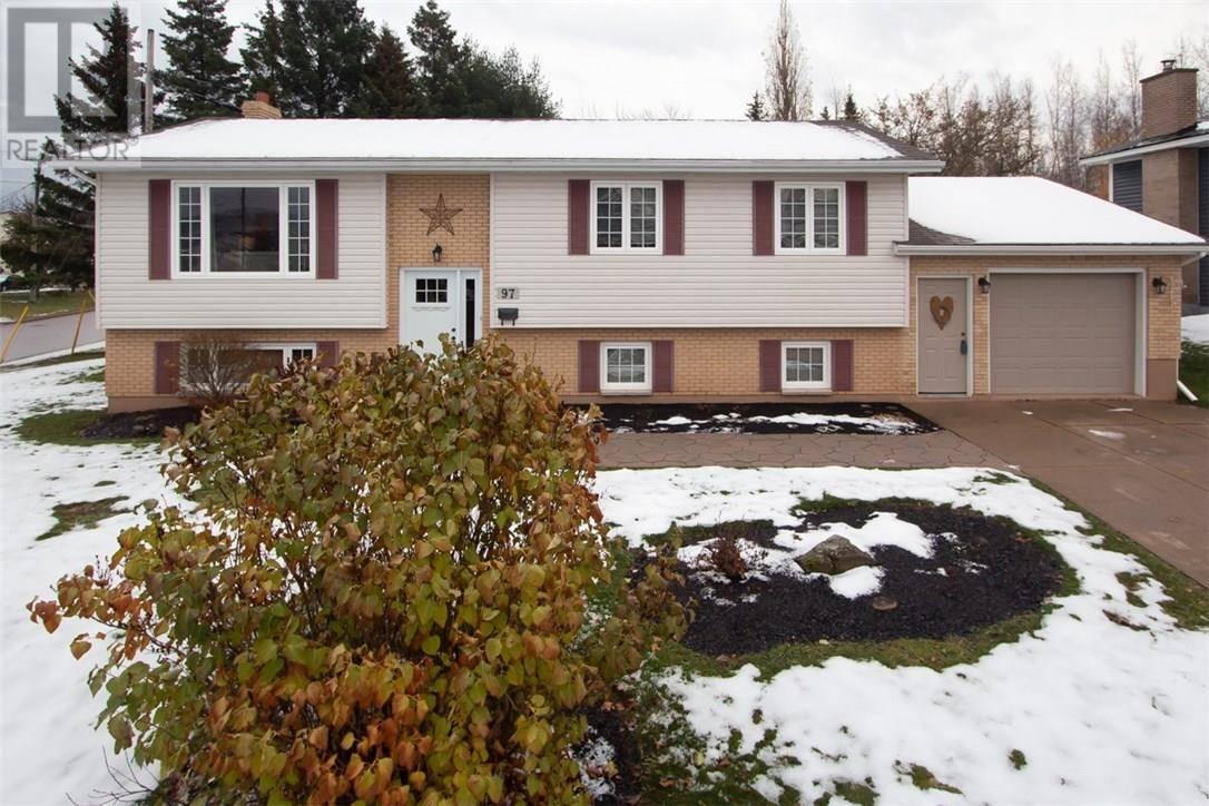 House for sale at 97 Fieldcrest Dr Moncton New Brunswick - MLS: M126304
