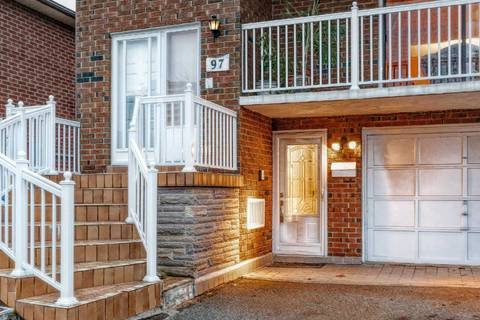 Townhouse for sale at 97 John Lindsay Ct Toronto Ontario - MLS: W4424065