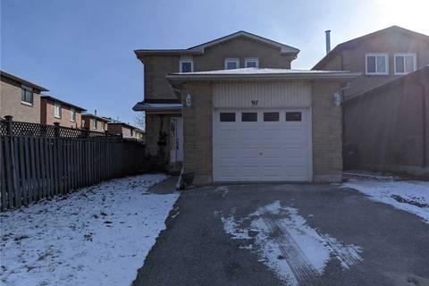 House for sale at 97 Muirland Cres Brampton Ontario - MLS: W4670363