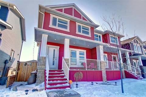 Townhouse for sale at 97 Redstone Common Northeast Calgary Alberta - MLS: C4292325