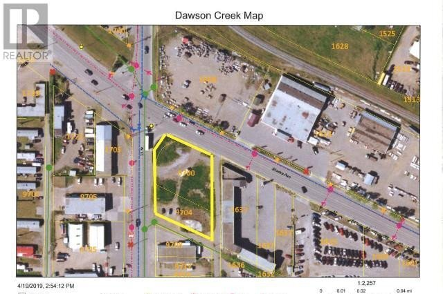Commercial property for sale at 9700 17 St Dawson Creek British Columbia - MLS: 183794