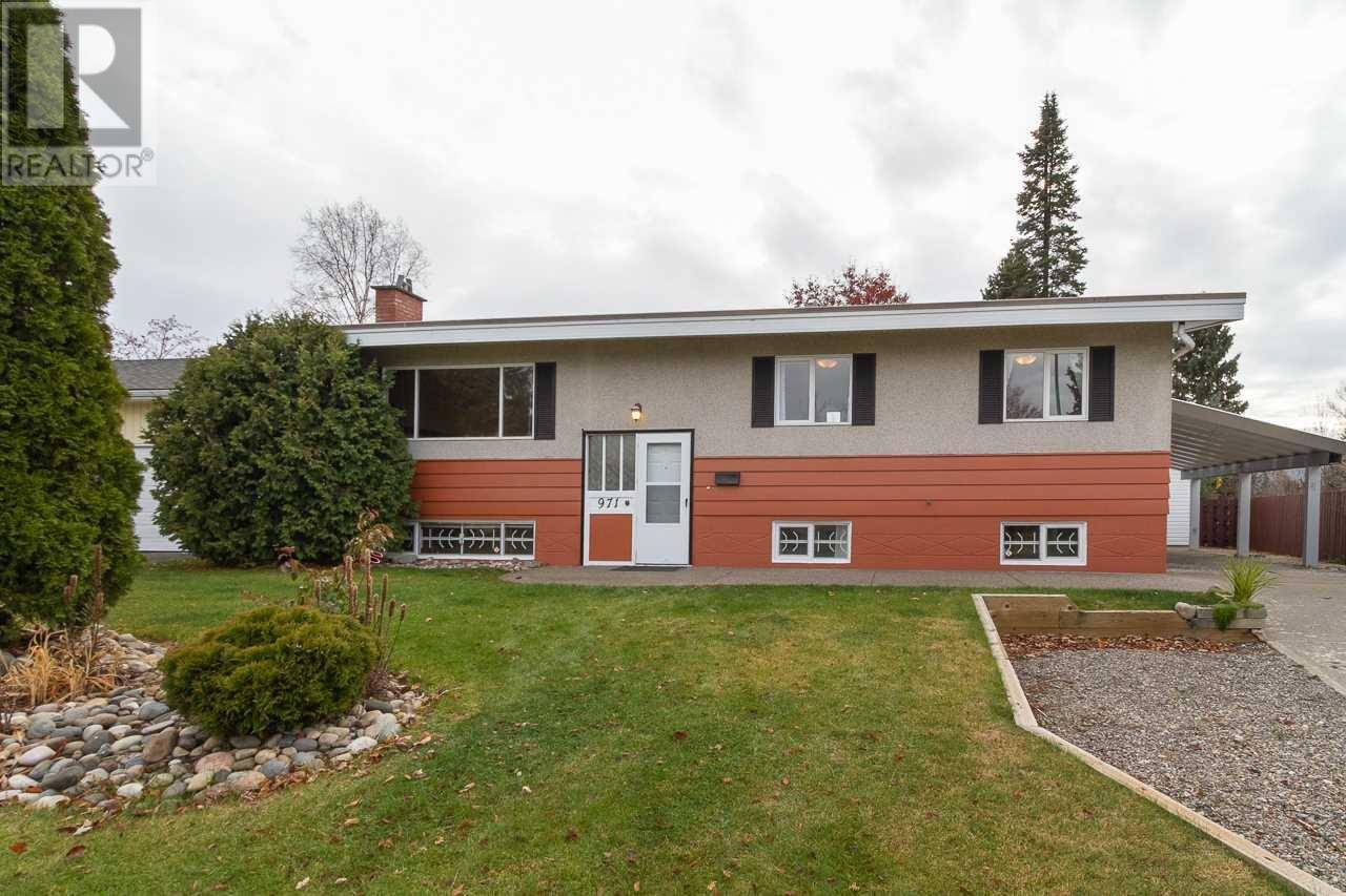 House for sale at 971 Vedder Cres Prince George British Columbia - MLS: R2416965