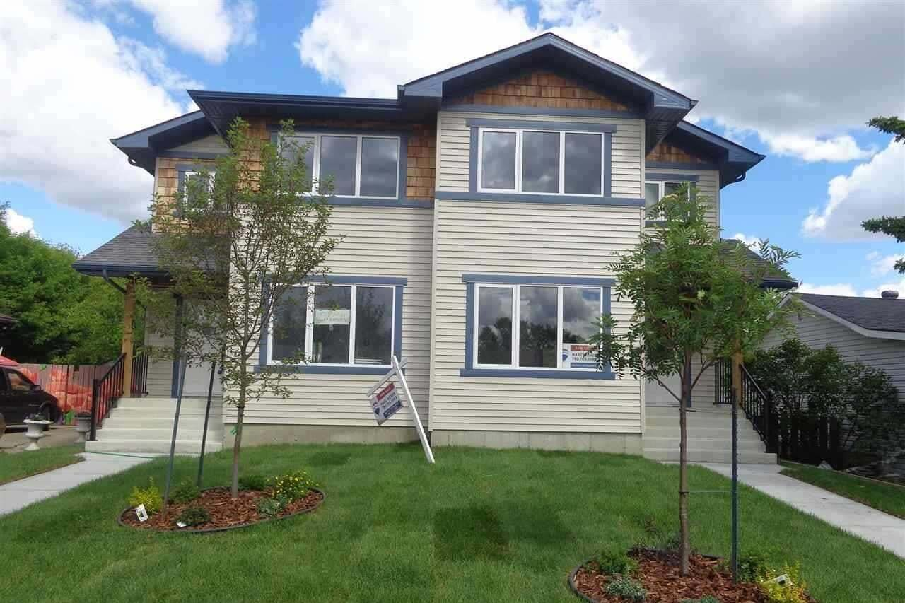 Townhouse for sale at 9711 & 9713 161 St NW Edmonton Alberta - MLS: E4216214