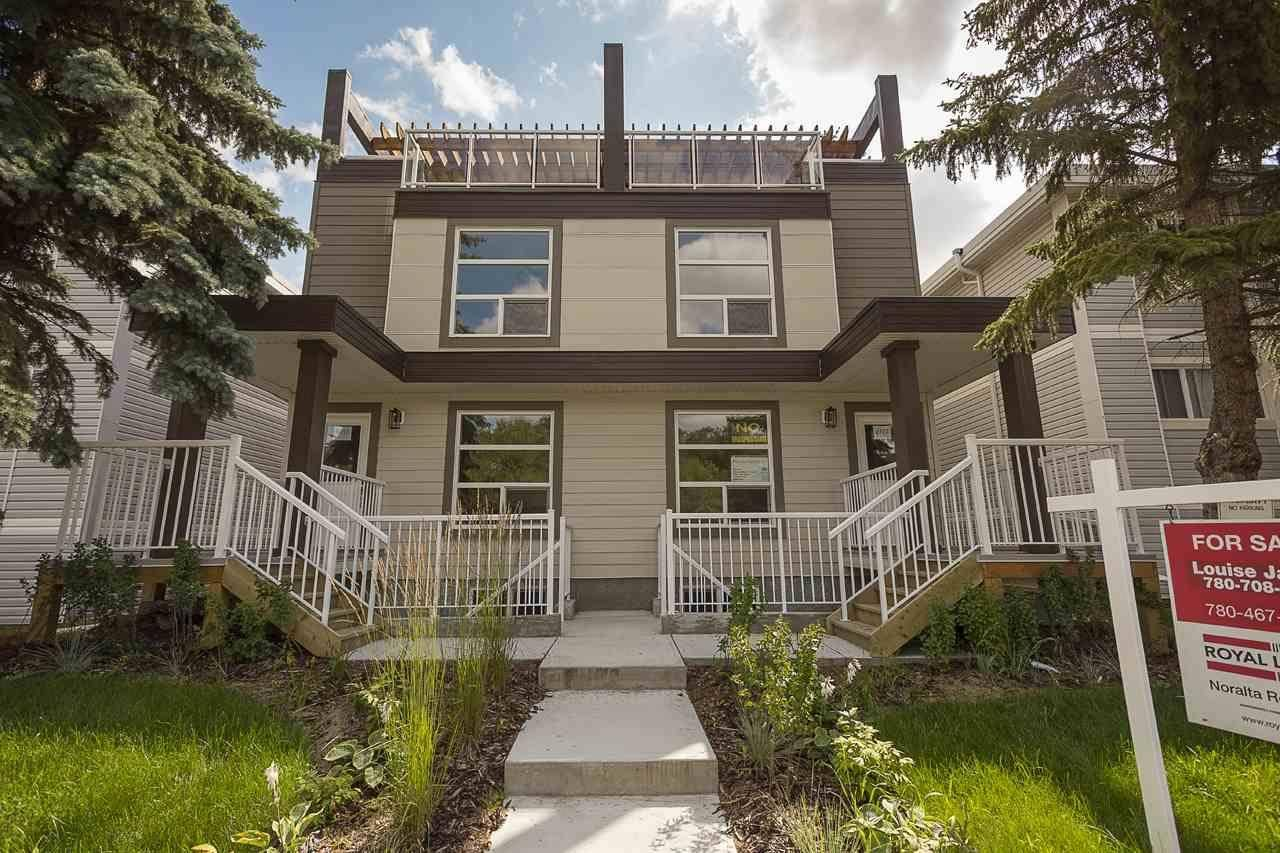 Townhouse for sale at 9717 82 Ave Nw Edmonton Alberta - MLS: E4169603