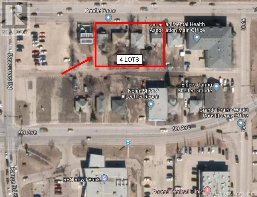 Home for sale at 9719 100 Ave Grande Prairie Alberta - MLS: GP211970