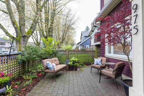 Townhouse for sale at 975 21st Ave E Vancouver British Columbia - MLS: R2361410