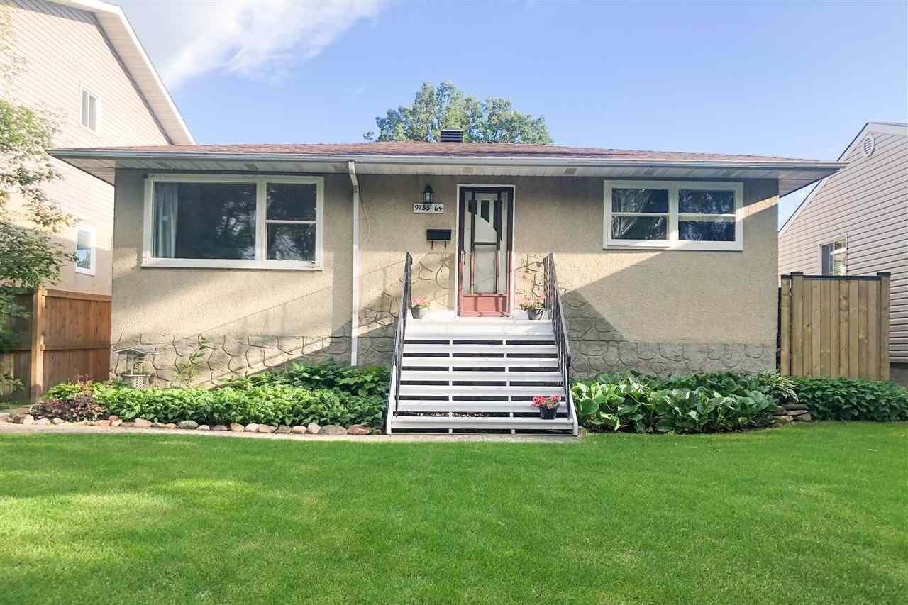 House for sale at 9755 64 Av NW Edmonton Alberta - MLS: E4206414