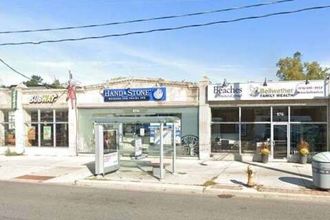 Commercial property for lease at 976 Kingston Rd Toronto Ontario - MLS: E4790654