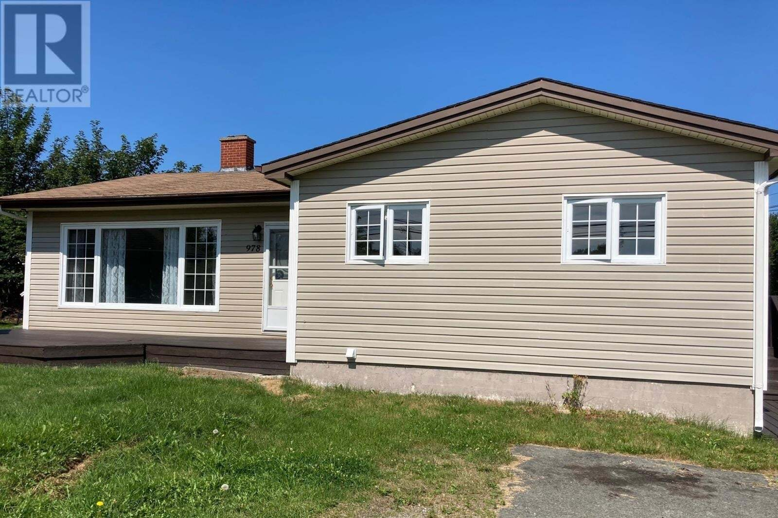 House for sale at 978 Conception Bay Hy Conception Bay South Newfoundland - MLS: 1218935