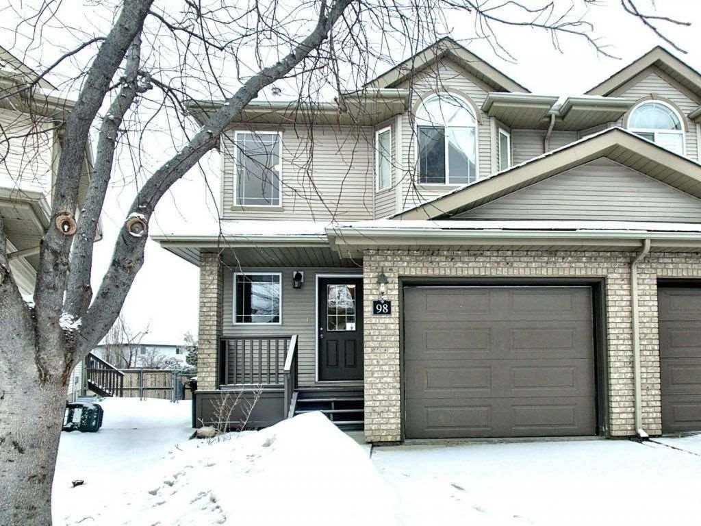 Townhouse for sale at 155 Crocus Cres Unit 98 Sherwood Park Alberta - MLS: E4190499