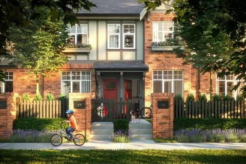 Townhouse for sale at 3552 Victoria Dr Unit 98 Coquitlam British Columbia - MLS: R2419044
