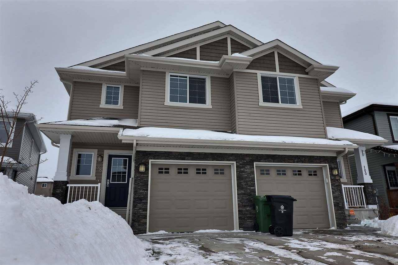 Townhouse for sale at 98 Cranston Pl Fort Saskatchewan Alberta - MLS: E4187213
