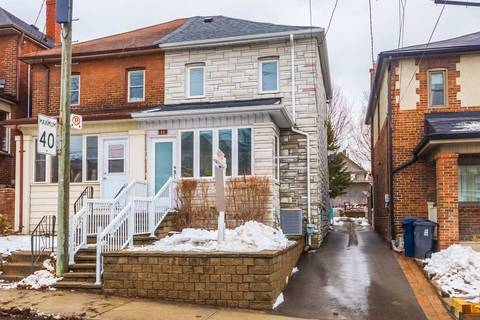 Townhouse for sale at 98 Deforest Rd Toronto Ontario - MLS: W4695612