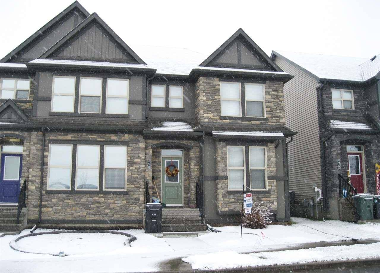 Townhouse for sale at 98 Gilmore Wy Spruce Grove Alberta - MLS: E4173365