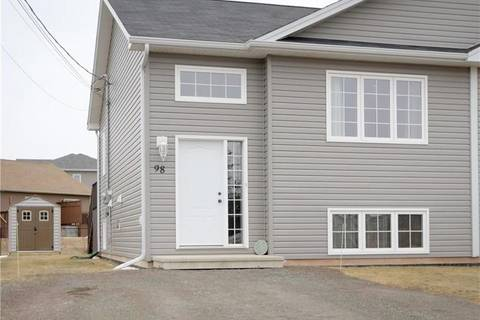 House for sale at 98 O'neill  Moncton New Brunswick - MLS: M122217