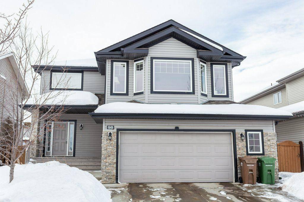 House for sale at 98 Ridge Dr North St. Albert Alberta - MLS: E4188213