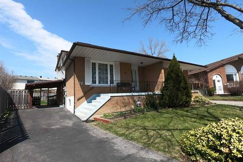 Townhouse for sale at 98 Silas Hill Dr Toronto Ontario - MLS: C4425896
