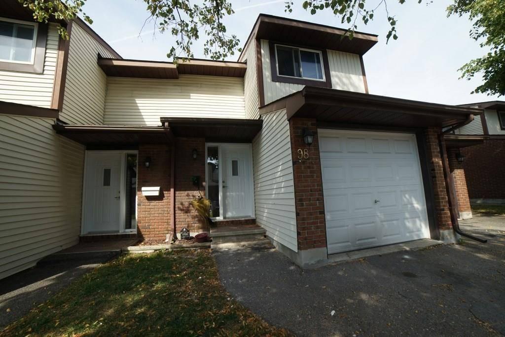 Townhouse for sale at 98 Stokes Cres Ottawa Ontario - MLS: 1170178