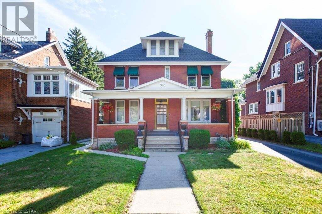 House for sale at 980 Richmond St London Ontario - MLS: 277562