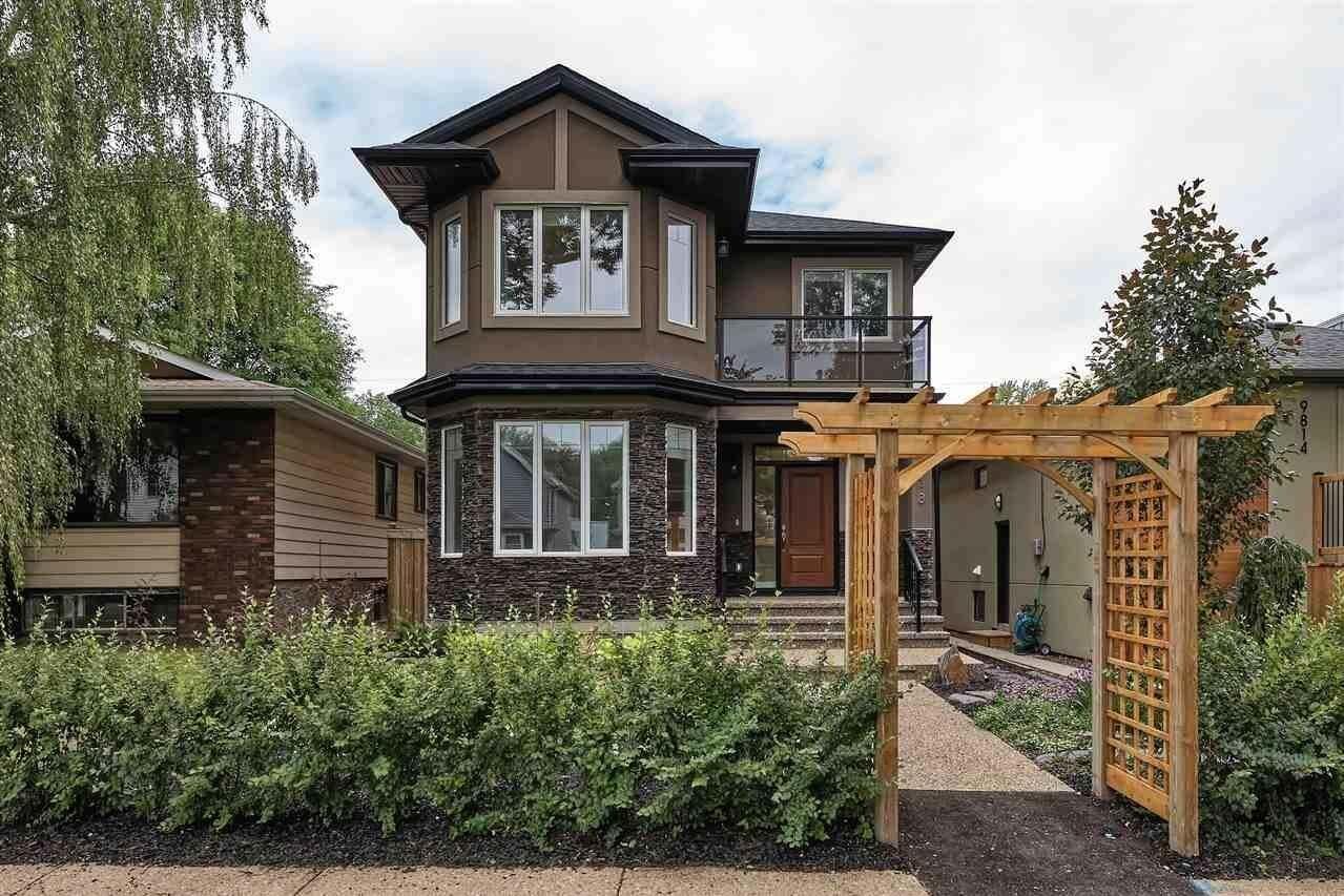 House for sale at 9818 88 Av NW Edmonton Alberta - MLS: E4204521