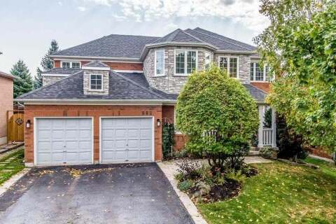 House for sale at 982 Northern Prospect Cres Newmarket Ontario - MLS: N4945667