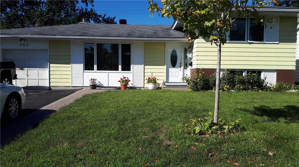 Removed: 982 Watson Street, Ottawa, ON - Removed on 2019-09-19 05:57:14