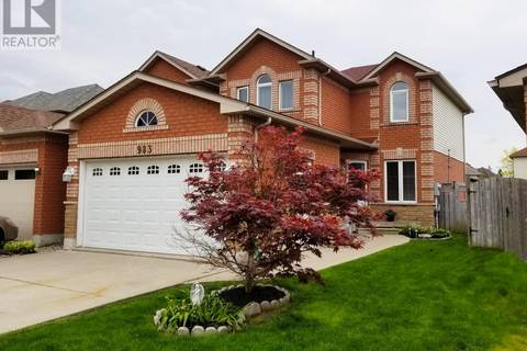 House for sale at 983 Peach Blossom Cres Windsor Ontario - MLS: 19018411