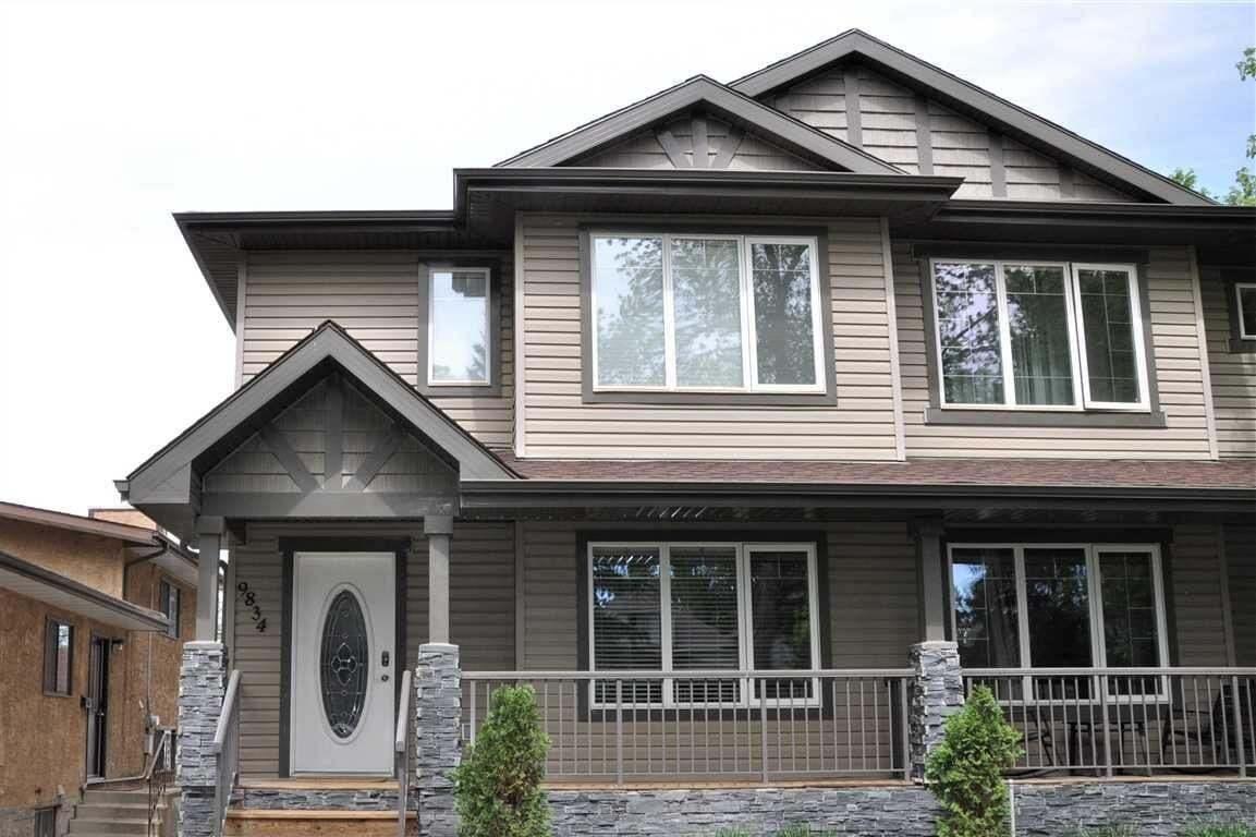 Townhouse for sale at 9834 74 Av NW Edmonton Alberta - MLS: E4199608
