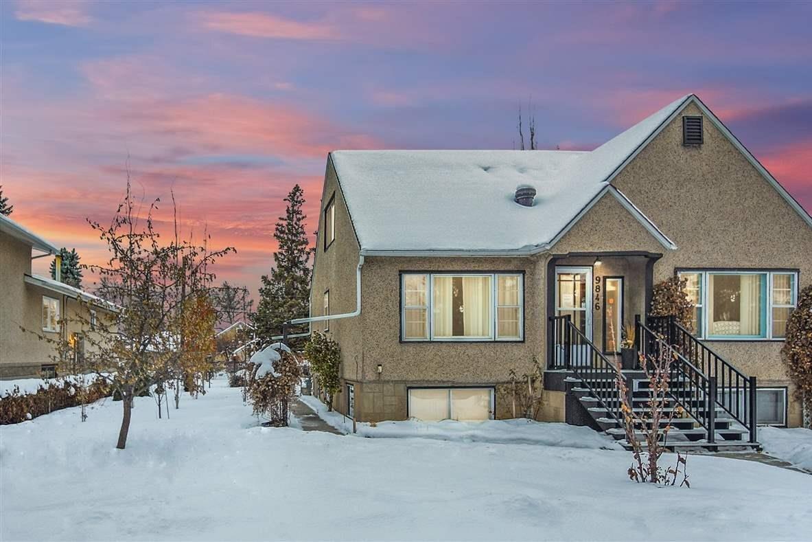 House for sale at 9846 74 Av NW Edmonton Alberta - MLS: E4221972
