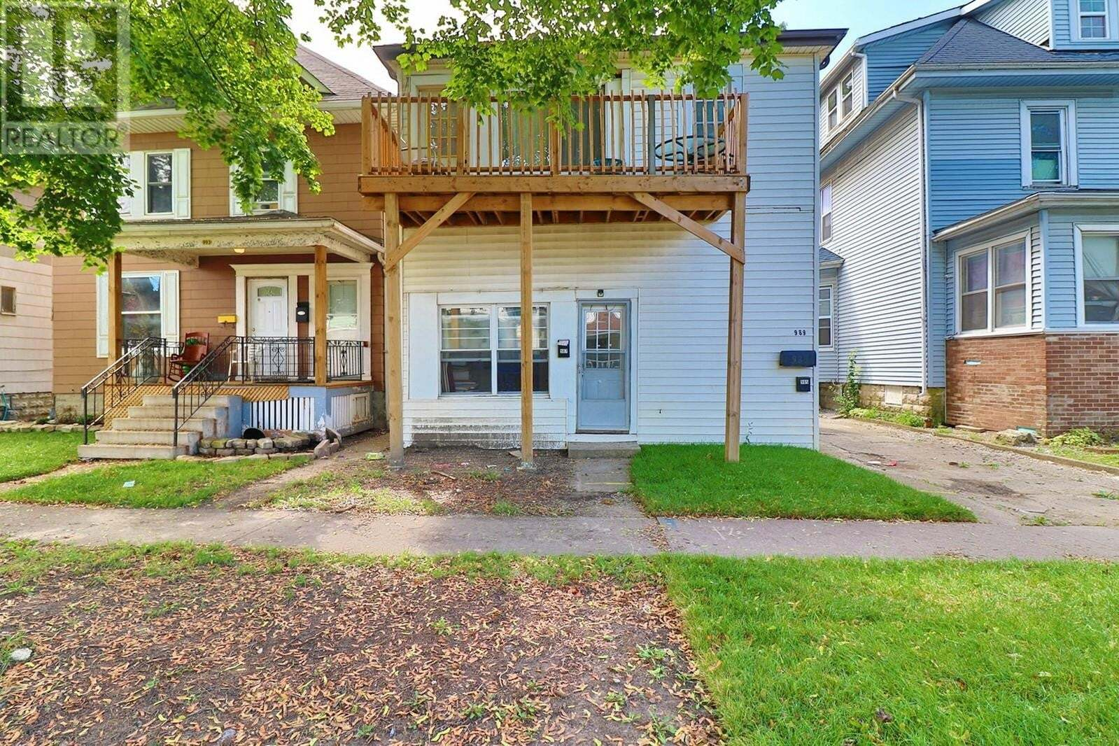 Townhouse for sale at 985-89 Lincoln  Windsor Ontario - MLS: 20011194