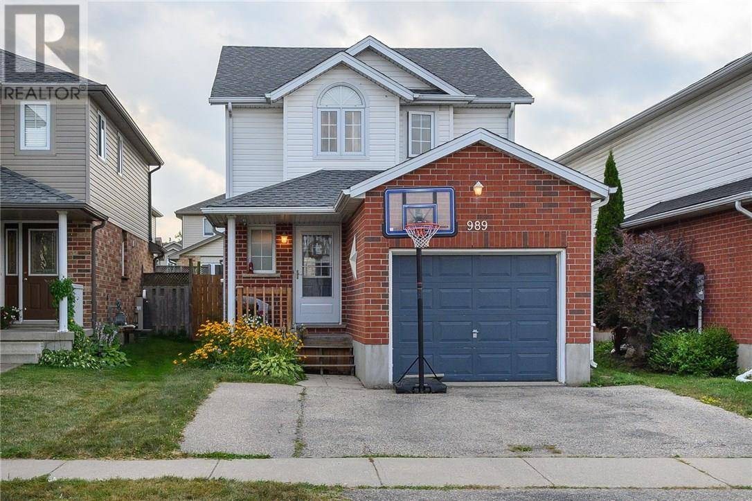 House for sale at 989 Copper Leaf Cres Kitchener Ontario - MLS: 30758038