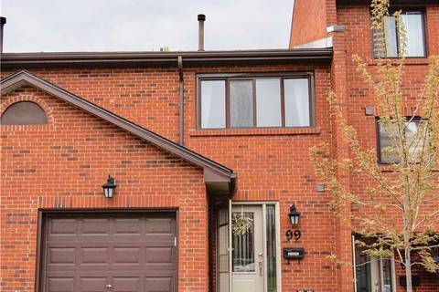 Condo for sale at 4165 Fieldgate Dr Unit 99 Mississauga Ontario - MLS: W4543338