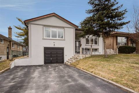 House for sale at 99 Barford Rd Toronto Ontario - MLS: W4734358