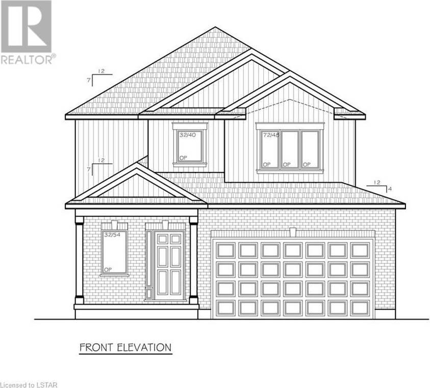 House for sale at 99 Bowman Dr Ilderton Ontario - MLS: 218839