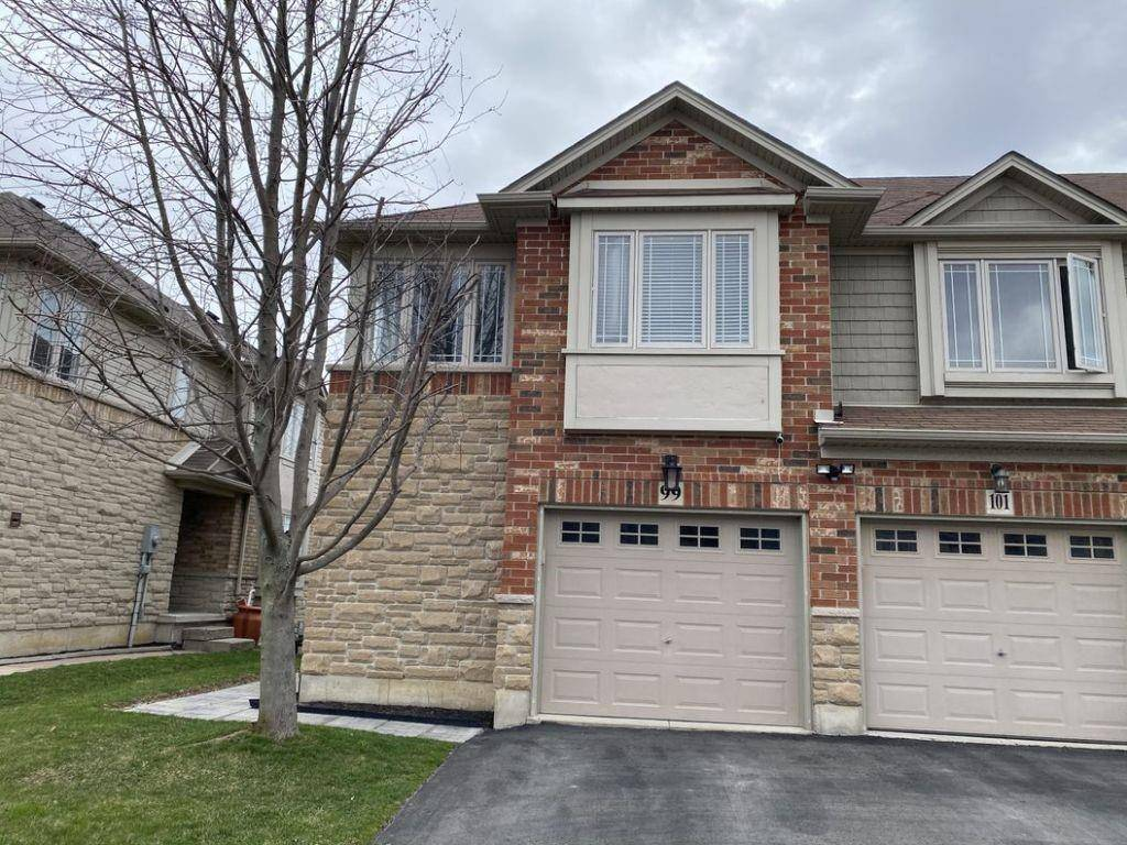 Townhouse for sale at 99 Donald Bell Dr Binbrook Ontario - MLS: H4076562
